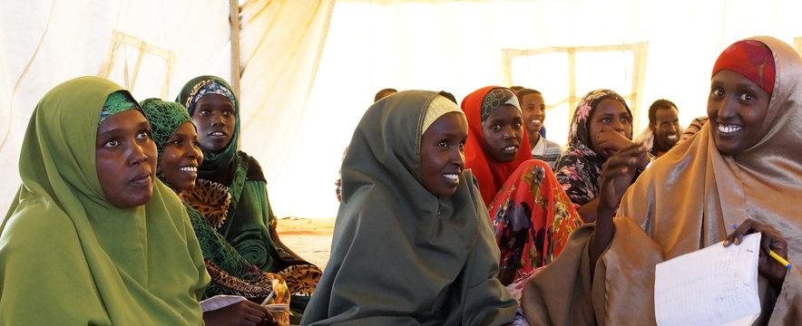 Melkedida Camp, 42.000 Somali Refugees, Famine and war, start July 2011, JRS October 201170 km north of Dollo Ado