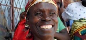 Burundi Easter woman