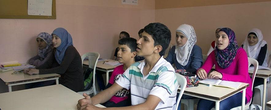 Children at Jbeil School in Lebanon