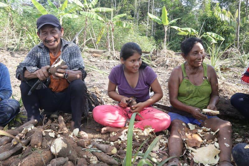 Uitota Family in the Amazon