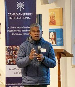 Fr Stanislaus Jebamalai SJ visits Canada