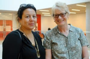 Isabel Perez Doherty and Mary Ellen Sullivan meet in Halifax