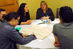 Canadian participants in a workshop. (Photo: U. Umenyi/CJI)