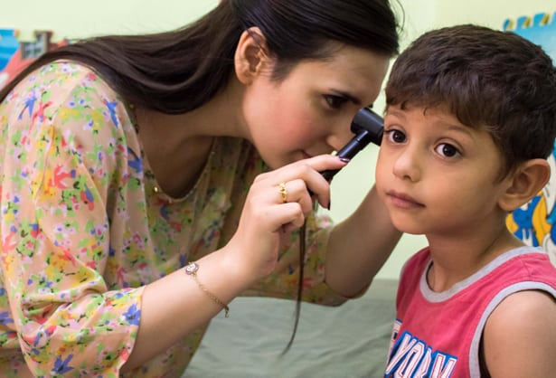 Aleppo pediatric clinic