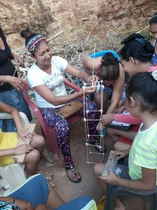 Community-building activity for internally displaced people and their hosts.