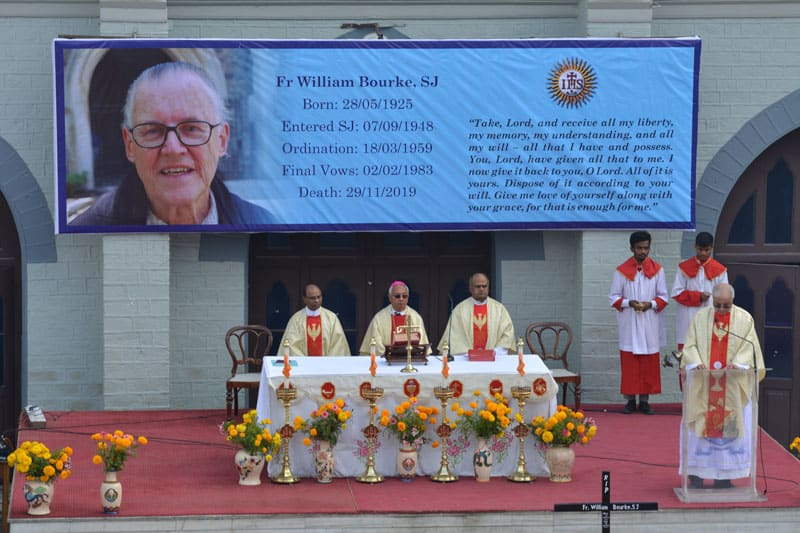 Mass for Fr William Bourke SJ
