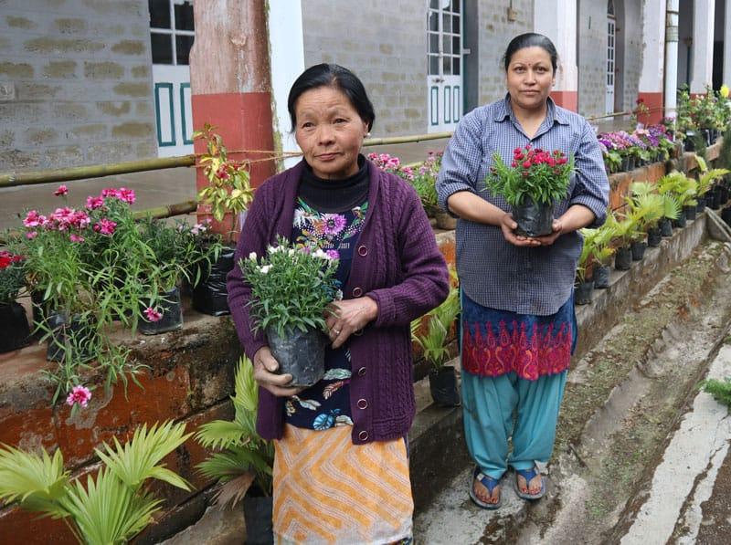 SASAC's floriculture program